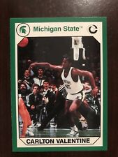 1990 Michigan State Spartans Collegiate Collection 200 #149 - Carlton Valentine