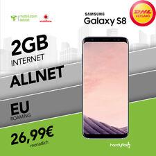 Samsung  Galaxy S8 im Mobilcom Vodafone Handyvertrag inkl. 2GB nur 26,99€ mtl.