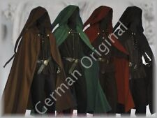 orig.German Medieval Cloak Long Pointed Hood Rennaisance SCA Larp Wicca Beltane