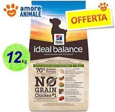Hill's Dog Ideal Balance Canine Adult MEDIUM  No Grain Pollo e Patate 12 kg