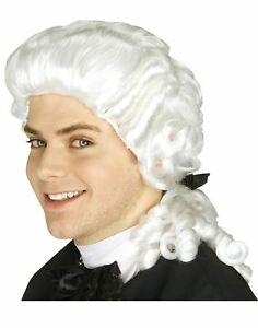 Colonial Wig American Revolution Judge Puritan George Washington Founding Father
