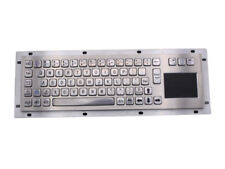 Panel Mount Keyboard Industrial Keyboards With Touchpad for information Kiosk
