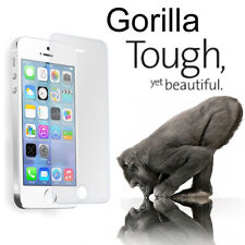 Genuine Tough Gorilla Tempered Glass Screen Protector for iPhone 5 5G 5S 5C