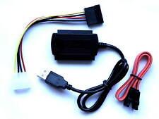 USB 2.0 Multi Adapter for IDE & SATA Hard Drives CD/DVD .