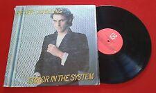 PETER SCHILLING *** Error In The System *** RARE & ORIGINAL 1983 LP Venezuela