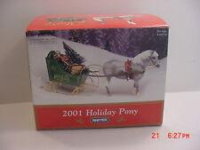 Breyer 2001 Jingles Christmas Pony In Original Box