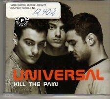 (BO255) Universal, Kill The Pain - 1998 DJ CD