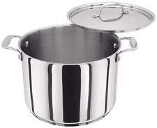 Stellar 7000 24cm 7.5L Stockpot Stainless Steel Suitable for Aga Rayburn