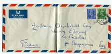 LETTRE LONDRE POUR CARQUEIRANNE VAR 1950