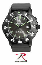 Smith and Wesson S&W S.W.A.T Watch NWT Special weapons black face military glow