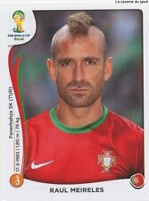 N°519 RAUL MEIRELES # PORTUGAL STICKER PANINI WORLD CUP BRAZIL 2014