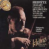 HEIFETZ CD Mozart Concerto 4 BEETHOVEN TRIO Vivaldi HANDEL Piatigorsky Cello