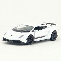 1:36 Lamborghini Gallardo LP570-4 Model Car Diecast Toy Vehicle Pull Back White