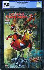 INVINCIBLE IRON MAN #600 - FIRST PRINT - MARVEL COMICS - CGC 9.8 - FINAL ISSUE