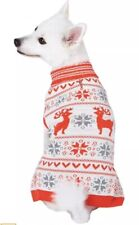 "Blueberry Pet Holiday Festive Christmas Dog Sweater 20"" XL Bold & Young"