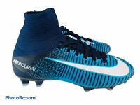 🔥 Nike JR Mercurial Superfly V FG ACC Soccer Cleats Gamma Blue 921526-404 Sz 4Y