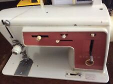 Vintage Singer Touch And Sew Zig Zag Model 626 Heavy Duty Sewing Machine Leather