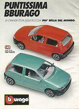 X7917 Fiat Punto - Bburago - Pubblicità 1994 - Vintage advertising