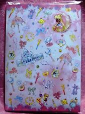 Sailor Moon Crystal Letter Set Romance Story Pink Limited Kawaii with Sticker