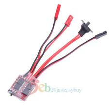 Synthetic 30A Mini Brushed ESC Brush Electronic Speed Controller for RC Car Red