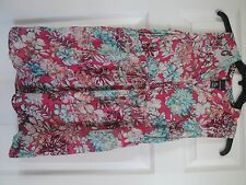 Oh Baby by Motherhood High Low-Tunic Fashion Floral Top Maternity Small $40