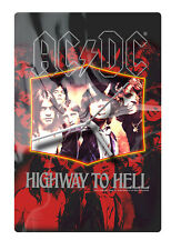 AC/DC 'HIGHWAY TO HELL' GLASS WALL CLOCK Brand