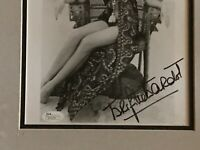 Brigitte Bardot Jsa Signed framed 11x14 young Photo Authenticated Autograph Sexy