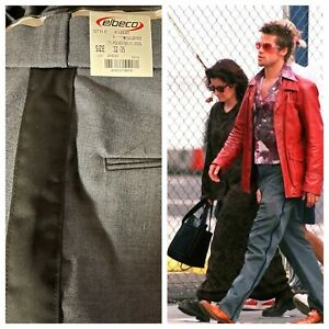 Tyler Durden Fight Club Postal Pants Usps Costume Oliver Peoples 523 New 32 X 35