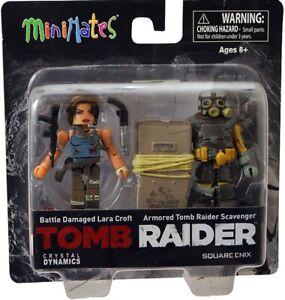 Tomb Raider minimates. New, Sealed