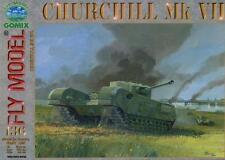Gomix FLY 136 - schwerer britischer Sturmpanzer Churchill Mk. VII   1:25