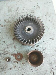 Vintage Briggs And Stratton Model N Flywheel Assembly