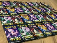 Pokemon HIDDEN FATES 36 Booster Packs Lot box | FACTORY SEALED