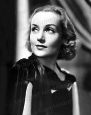 8x10 Print Carole Lombard Beautiful Fashion Portrait #1949