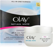 Olay Natural White ALL IN ONE Fairness Whitening Day Cream SPF 24 50g