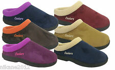 coolers ladies mule slippers clog new sizes 4/5/6/7/8 3x colours premier quality