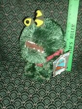 "Disney Store Exclusive ~ Monster's University ~ Plush ~ REGGIE ~ New ~ 8"" ~ tags"