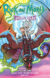 Rick & Morty Worlds Apart TPB Volume 1 Softcover Graphic Novel