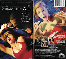 The Stranglers Wife (NEW VHS 2002) Sarah Huling, Ciaran Crawford, Horror