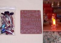 = DELUXE PC BOARD = GOOFY LIGHT school science fair unbuilt neon flasher DIY kit