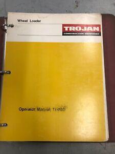 TROJAN Wheel Loader Operator Manual TB088