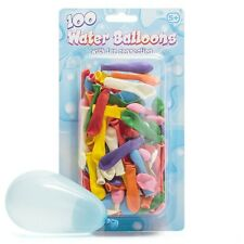 Pack of 100 Water Balloons WITH TAP CONNECTION - Fun Water Fight Outdoor Game