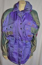 SPYDER Purple Entrant Ski Snowboard Jacket ladies size 6 longer length