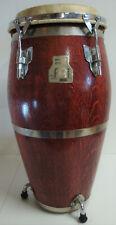 Hochw. MEINDL WOODCRAFT Trommel Percussion Conga Handtrommel HxD 74x38cm 80erJ.2