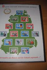 DDR  Briefmarkensammlunng Michel 863 bis 2444 postfrisch
