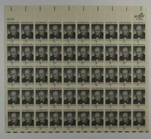 US SCOTT 1264 PANE OF 50 WINSTON CHURCHILL STAMPS 5 CENTS FACE MNH