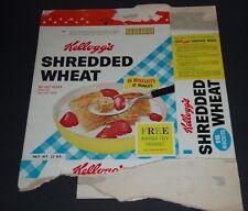 1963 Kelloggs Cereal Box w/ Baking Soda Frogman & Sailboat premium offers