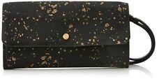 Desigual mone Metalnero Portafoglio reversibile da Donna colore Nero e Blu Uni Non applicabile