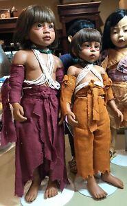"23"" Gotz Limited Dolls Phillip Heath  PARA & JAVARI Excellent Condition RARE!"