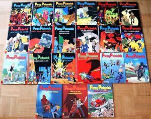 21 Bände Percy Pickwick Comics Bd. 1- 9 11 - 22 Rodrique Carlsen 1989-2008