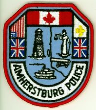 Amherstburg Police, Ontario HTF Vintage Uniform/Shoulder Patch Canada #1